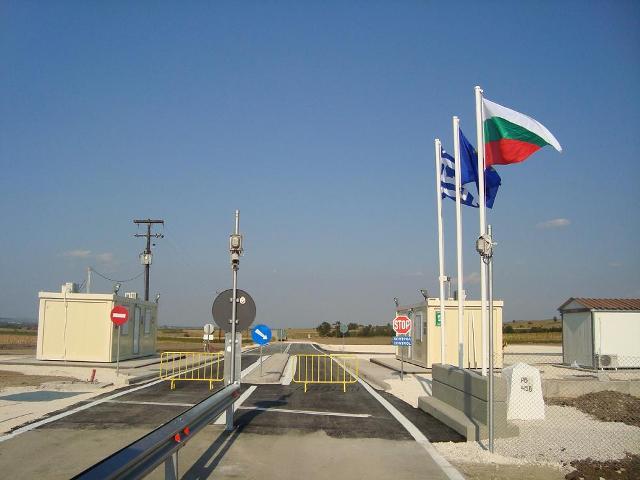 ГКПП с Гърция край село Славеево